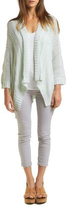 Wooden Ships Ribbed Kimono Cardigan $149 thestylecure.com