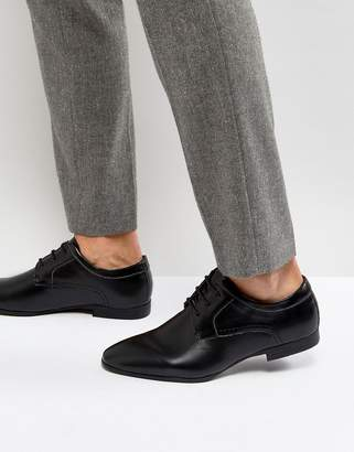 New Look Derby Shoes In Black