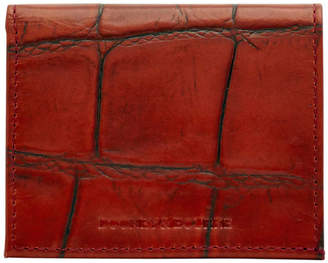 Dooney & Bourke Croco Credit Card Holder