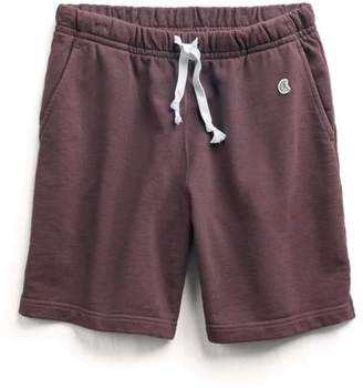 Todd Snyder + Champion The Warm Up Short in Plum