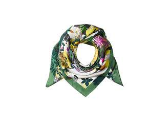 Vince Camuto Coral Floral Silk Square Scarves