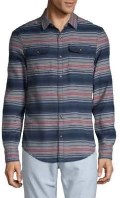 Original Penguin Striped Button-Down Shirt