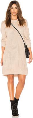 MinkPink Don't Cross Me Lace Up Knit Dress