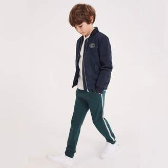 Lacoste Boys' Nylon Bomber Jacket