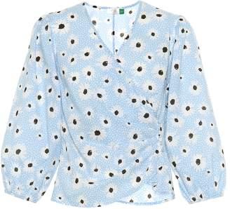 Rixo Shannon floral cotton top