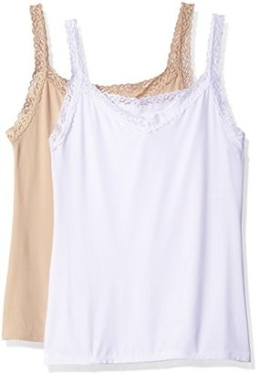 Vanity Fair Women's 2 Pack Perfect Lace Spincami Camisole 17167 $44 thestylecure.com