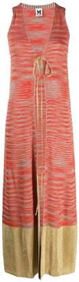 M Missoni sleeveless long cardigan