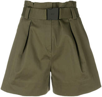 No.21 belted shorts