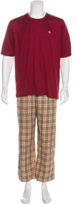 Burberry Nova Check Pajama Set