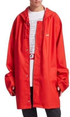 Vetements Short Logo Raincoat