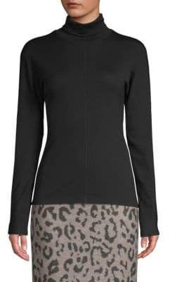 Max Mara Ceres Center Seam Turtleneck