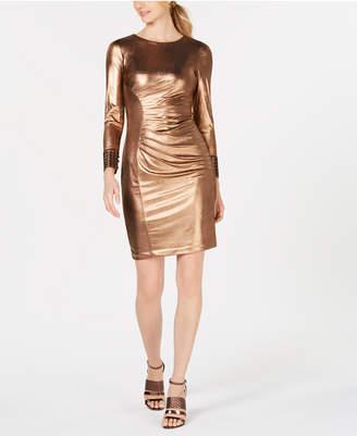 Calvin Klein Metallic Bodycon Dress