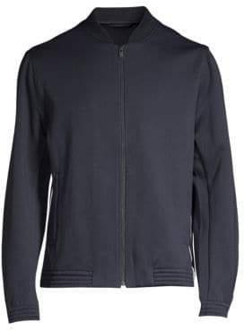 Theory Regular-Fit Arctic Wool-Blend Fleece Funnel Jacket