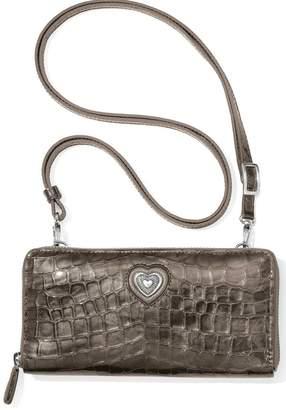 Brighton Bellissimo Heart Zip-Wallet