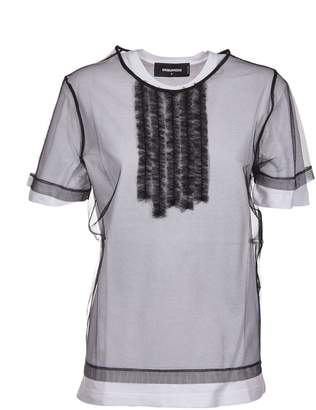 DSQUARED2 Double Layered T-shirt