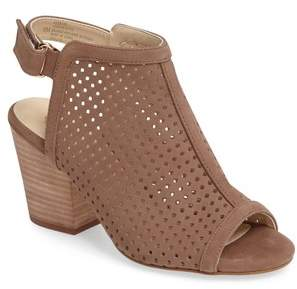 Isola 'Lora' Perforated Open-Toe Bootie Sandal