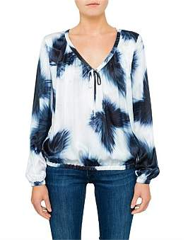 BOSS ORANGE Kamyga 10204682 01 Abstract Print Top