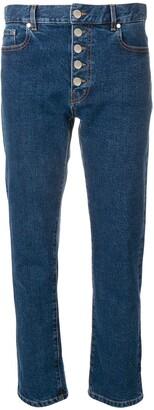 Joseph button-up jeans