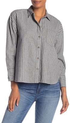 Madewell Westward Striped Flannel Shirt