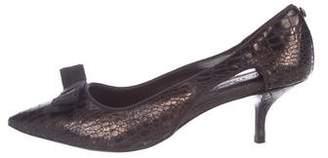Donald J Pliner Metallic Pointed-Toe Pumps