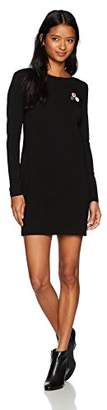 Obey Junior's Ritchie Long Sleeve Open Back Dress