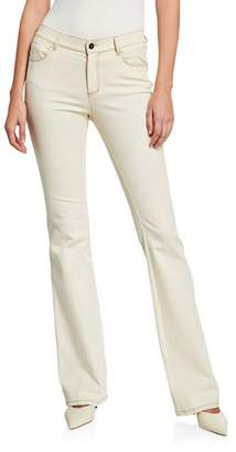 Lafayette 148 New York Mercer Artisan Denim 8 OZ Flare Jeans