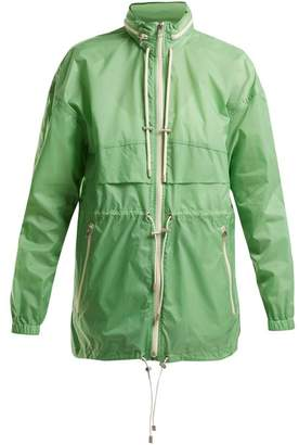 Etoile Isabel Marant Cranden Shell Hooded Jacket - Womens - Green