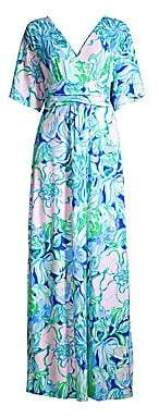Lilly Pulitzer Women's Pargi Floral Maxi Dress