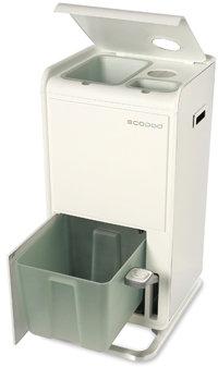 Ecopod Recycling Center - White