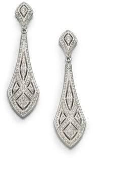 Adriana Orsini Art Deco Crystal Drop Earrings