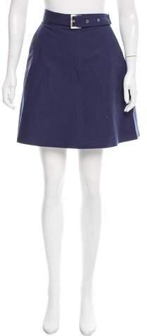 Michael Kors Belted Mini Skirt