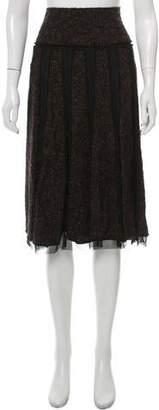 Lafayette 148 Bouclé Knee-Length Skirt