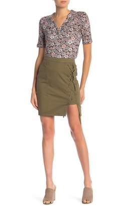 William Rast Michelle High Waist Utility Skirt