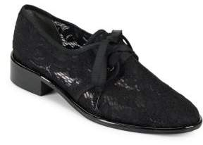 Adrianna Papell Paisley Floral Lace Oxfords