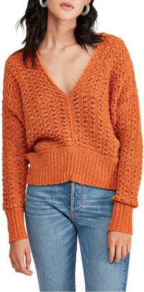 Free People V-Neck Sweater