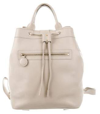 Fairchild Baldwin Leather Drawstring Backpack