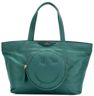 Anya Hindmarch smiley tote bag