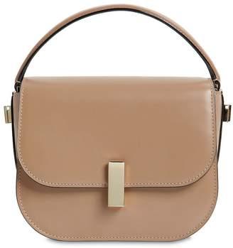 Valextra Mini Iside Brushed Leather Crossbody Bag