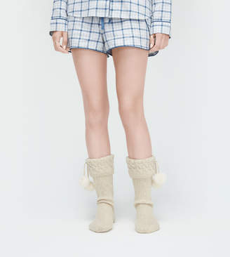 UGG Pom Pom Tall Rainboot Sock