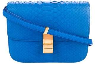 Celine Medium Python Box Bag