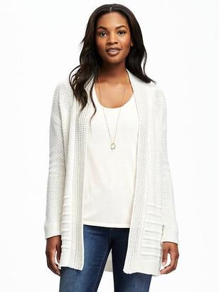 Open-Front Textured Cardi for Women $44.94 thestylecure.com