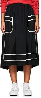 Comme des Garcons Women's Piqué Midi-Skirt
