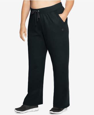 Champion Plus Size Fleece Open-Leg Sweatpants