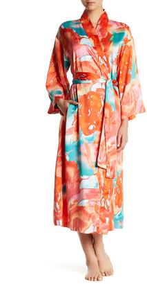 Natori Flower Mist Robe $68 thestylecure.com