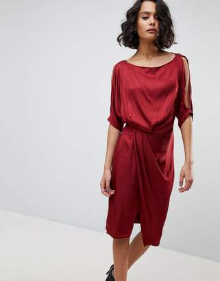 AllSaints Cowl Neck Dress