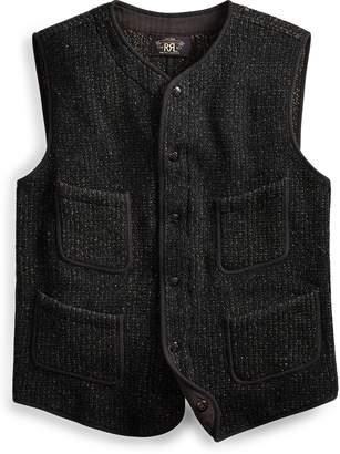Ralph Lauren Indigo Knit Cotton-Silk Vest