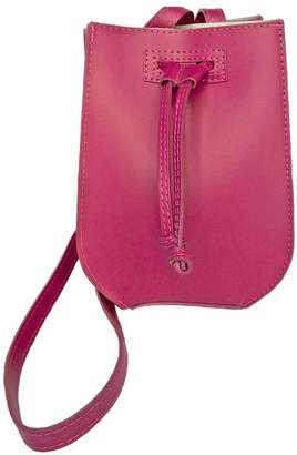Leather Country Fuchsia Leather Bag