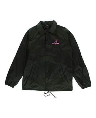 HUF Men's Owsley Coaches Jacket
