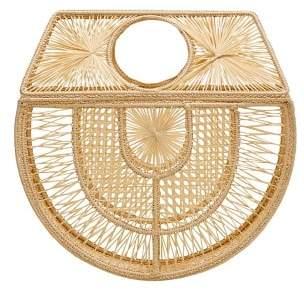 MANGO Raffia handmade bag