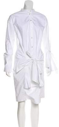 Ji Oh Layered Shirt Dress